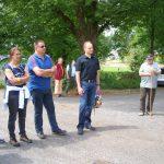 Ausgangspunkt war der Sportplatz in Heckholzhausen
