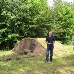 Martin Hirschhäuser berichtet über das Hügelgräberfeld