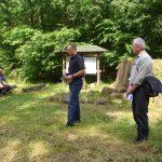 In den Gräbern gab es Bronzeschmuck-Beigaben